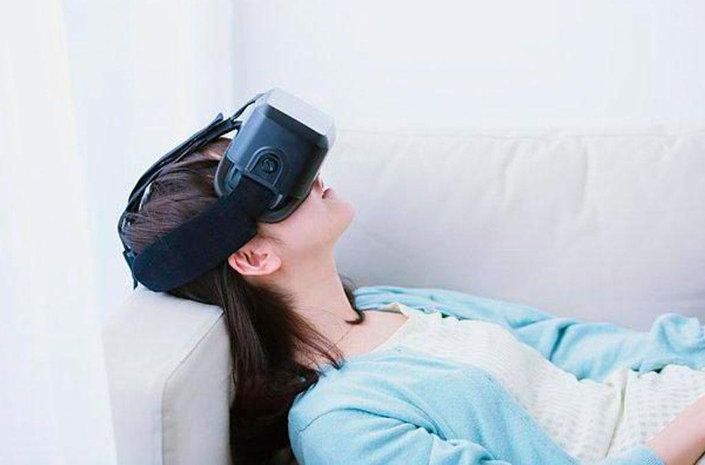 Realidad Virtual: Terapia de relajación / antiestrés. Opinión de una paciente