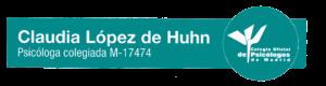 Psicologa colegiada del Colegio oficial de Psicologos de Madrid