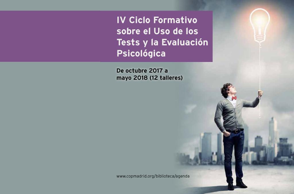 Participamos En El IV Ciclo Formativo Sobre El Uso De Los Test Y La Evaluación Psicológica En El Colegio De Psicólogos De Madrid