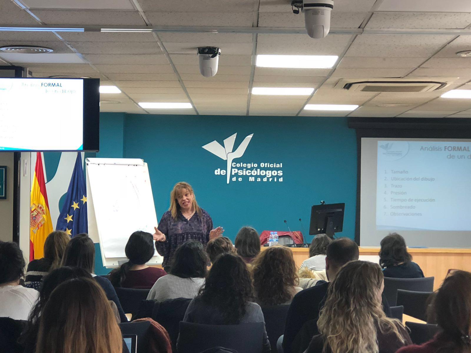 Participamos en el IV Ciclo Formativo del Colegio Oficial de Psicólogos de Madrid