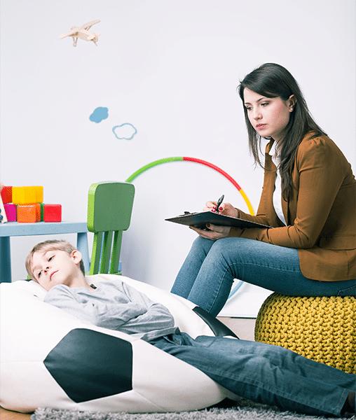 Intervención terapeútica en niños
